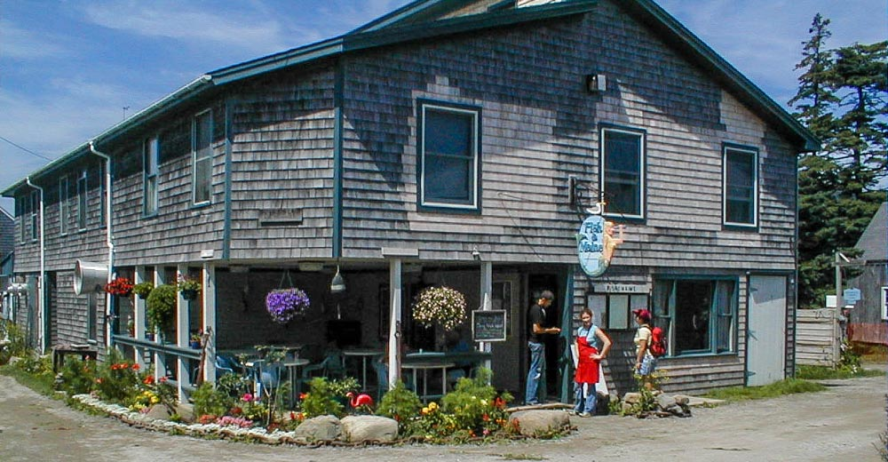 Images from Shining Sails and Monhegan Island